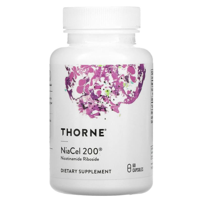 Thorne Research NiaCel 200 60 Capsules - фото 1