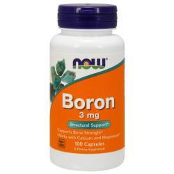 Now Foods Boron 3 mg 100 caps