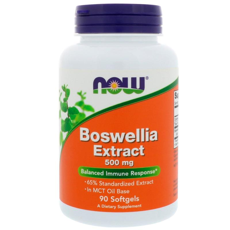 Now Foods Boswellia Extract 500 mg 90 softgels - фото 1