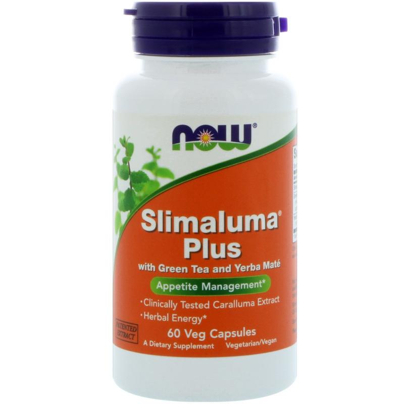 Now Foods Slimaluma Plus 60 vcaps - фото 1