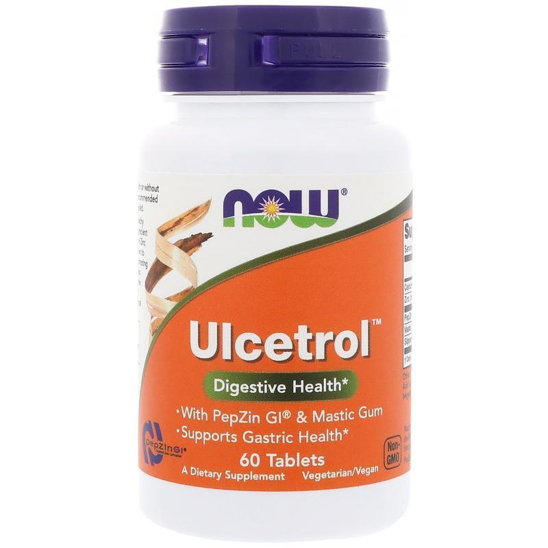 Now Foods Ulcetrol 60 tab - фото 1