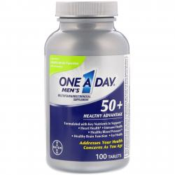 One A Day Men's 50+ Healthy Advantage 100 Tablets