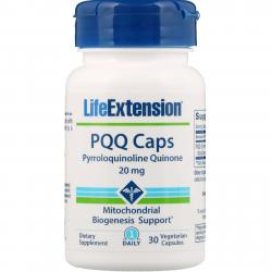 Life Extension PQQ Caps with BioPQQ 20 mg 30 vcaps