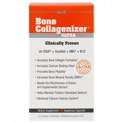 BioSil by Natural Factors Bone Collagenizer Ultra 40 Vegetarian Capsules