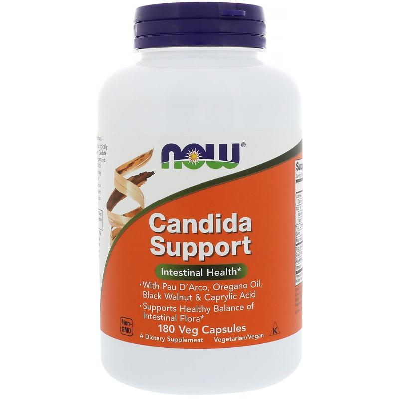 Now Foods Candida Support 180 vcaps - фото 1