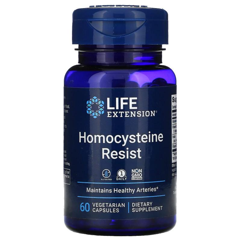 Life Extension Homocysteine Resist 60 capsules - фото 1