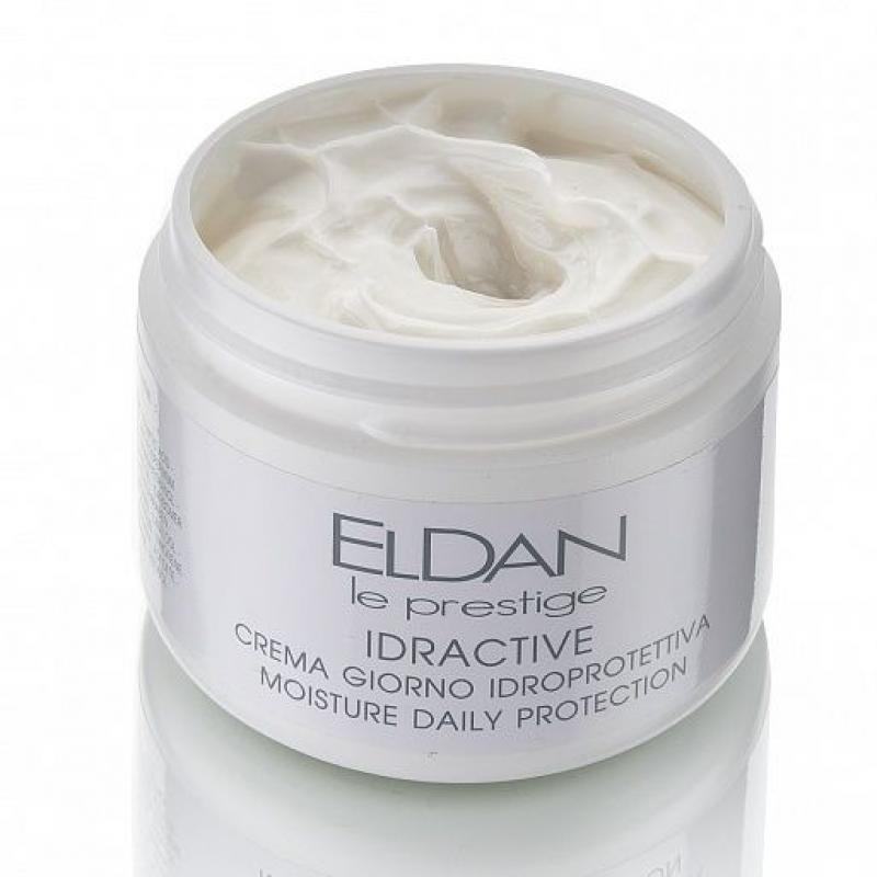 Eldan Le Prestige Idractive Увлажняющий крем с рисовыми протеинами 50 мл - фото 1