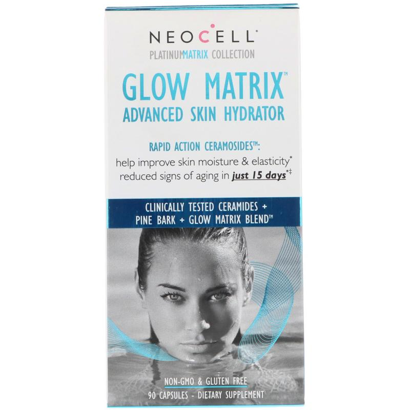 Neocell Glow Matrix Advanced skin hydrator 90 capsules - фото 1