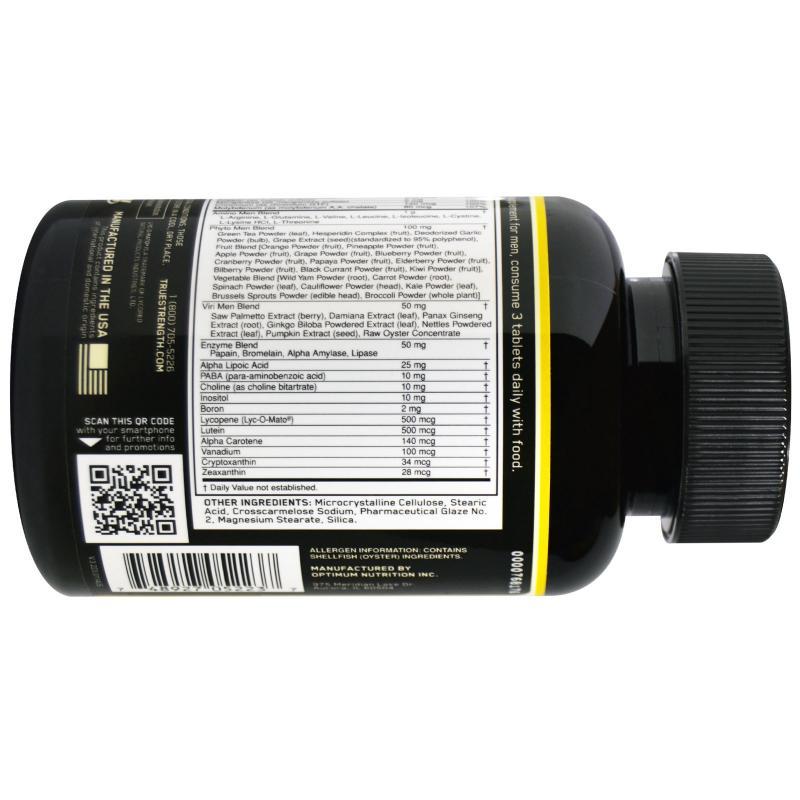 Optimum Nutrition Opti-Men 90 tablets - фото 1
