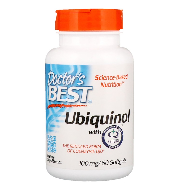 Doctor's Best Ubiquinol with kaneka 100 mg 60 vcaps - фото 1
