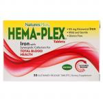 Nature's Plus Hema-Plex 30 sustained release tablets - фото 1