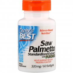 Doctor's Best Saw Palmetto 320 mg 60 softgels