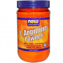 Now Foods L-Arginine Powder 100 % 454 g