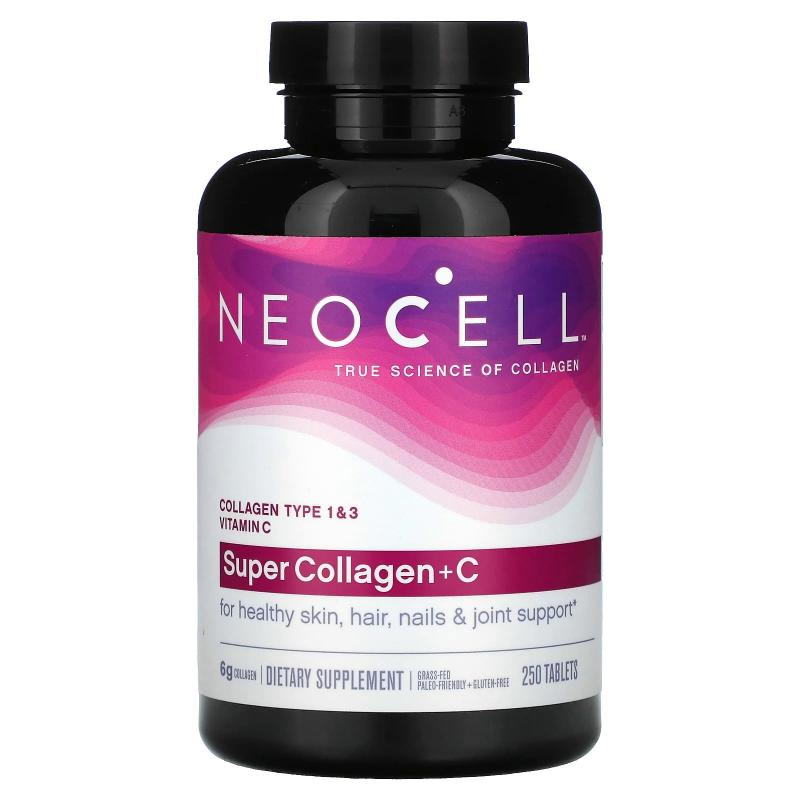 Neocell Super Collagen + C Type 1&3 6.000 mg 250 tablets - фото 1