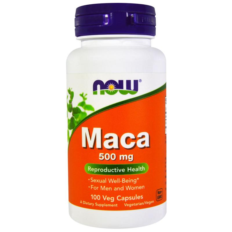 Now Foods Maca 500 mg 100 vcaps - фото 1
