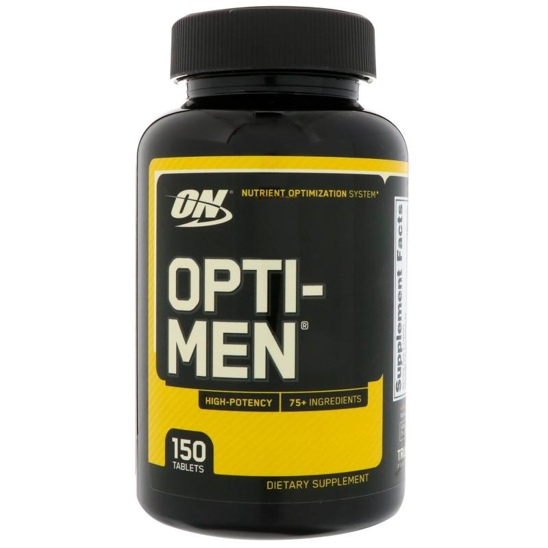 Optimum Nutrition Opti-Men 150 tablets - фото 1