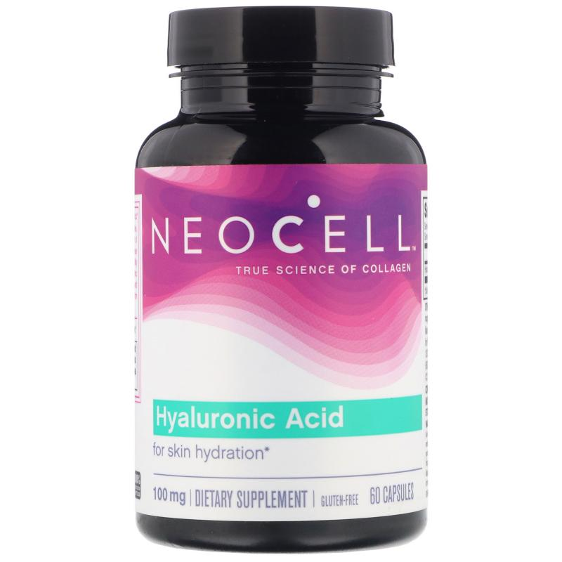 Neocell Hyaluronic Acid 100 mg 60 caps - фото 1