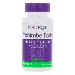Natrol Yohimbe Bark 500 mg 90 caps