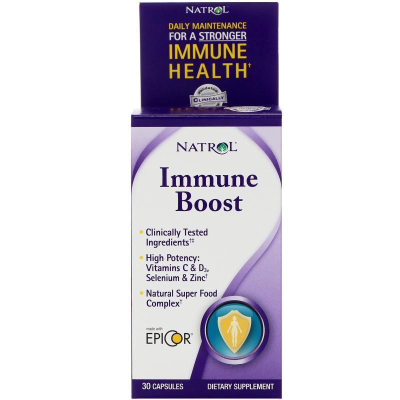Natrol Immune Boost 30 Capsules - фото 1