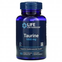 Life Extension Taurine 1000 mg 90 capsules