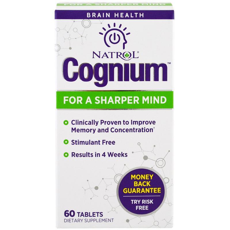 Natrol Cognium 60 Tablets - фото 1
