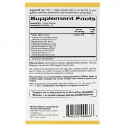 California Gold Nutrition LactoBif Probiotics 5 Billion CFU 60 vcaps