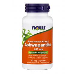 Now Foods Ashwagandha 450 mg 90 vcaps