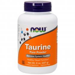 Now Foods Taurine Pure Powder 227 g