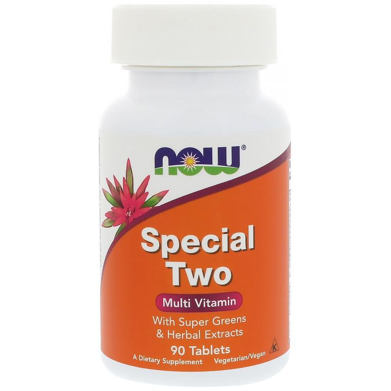 Now Foods Special Two Multi Vitamin 90 Tablets - фото 1