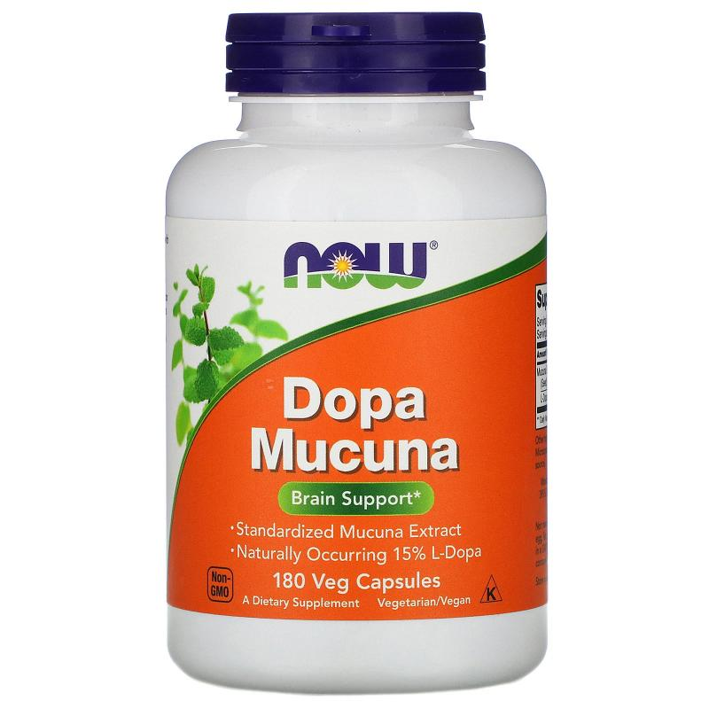 Now Foods Dopa Mucuna 180 Vcapsules - фото 1