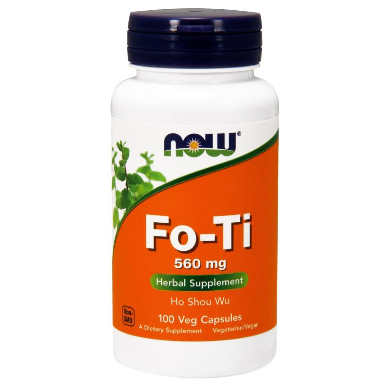 Now Foods Fo-Ti 560 mg 100 Veg capsules - фото 1