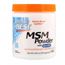 Doctor's Best MSM Powder with OptiMSM 250 g