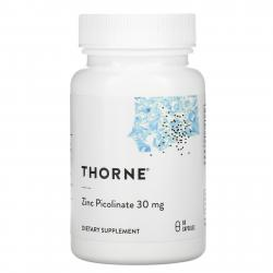 Thorne Research Zinc Picolinate 30 mg 60 capsules