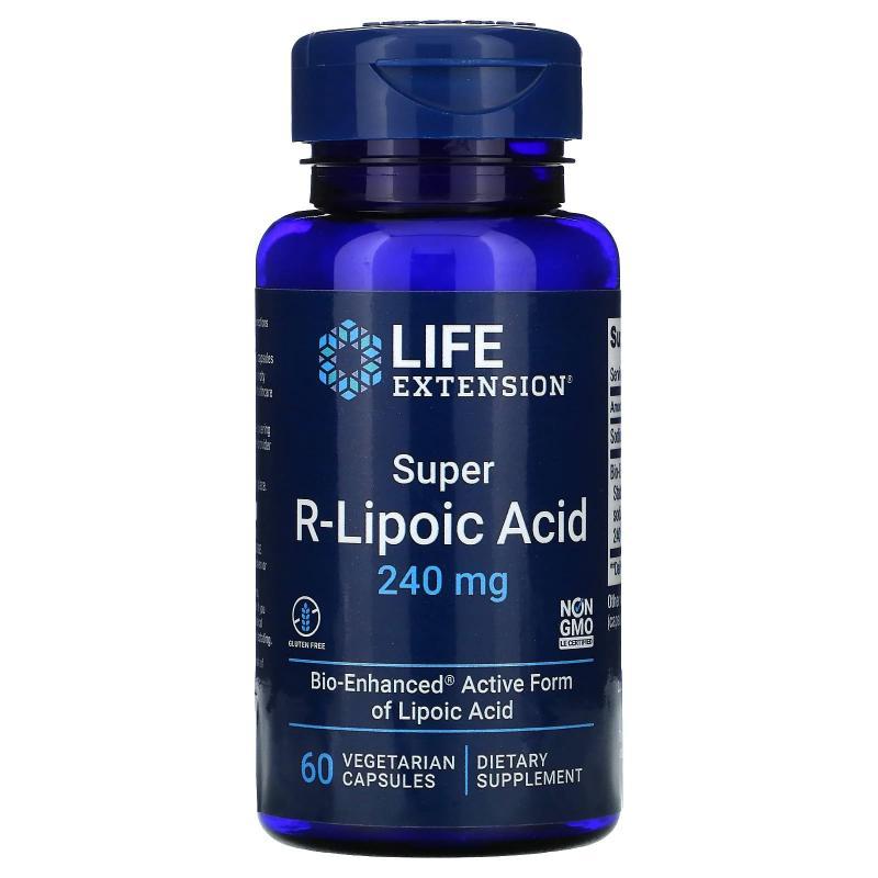 Life Extension Super R-Lipoic Acid 240 mg 60 capsules - фото 1