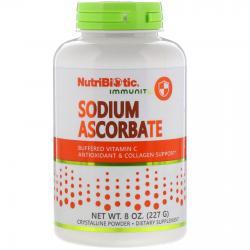 NutriBiotic Sodium Ascorbate buffered vitamin C 227 g