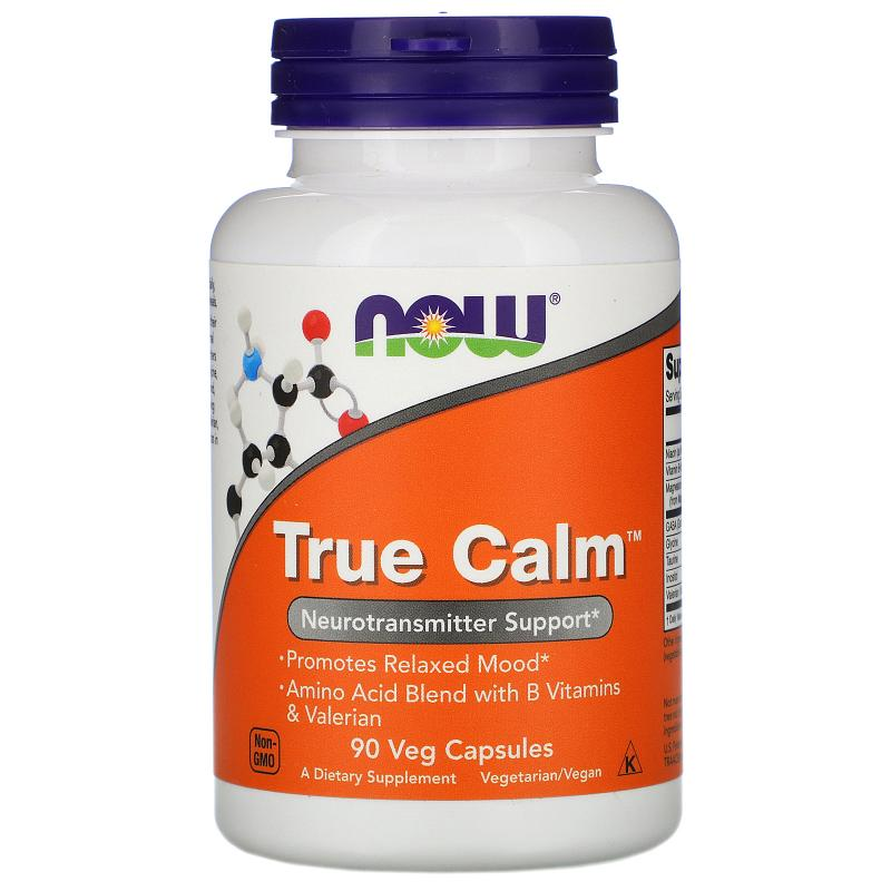 Now Foods True Calm 90 vcaps - фото 1