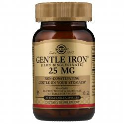 Solgar Gentle Iron 25 mg 90 vcaps
