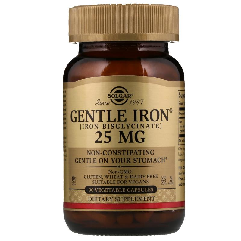 Solgar Gentle Iron 25 mg 90 vcaps - фото 1
