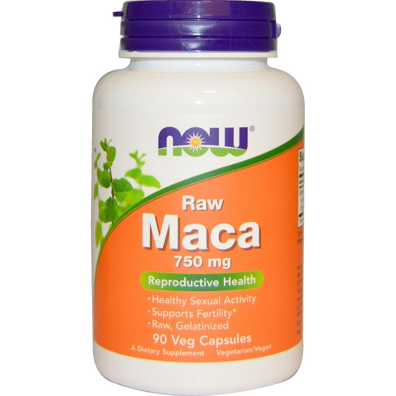 Now Foods Maca 750 mg 90 vcaps - фото 1