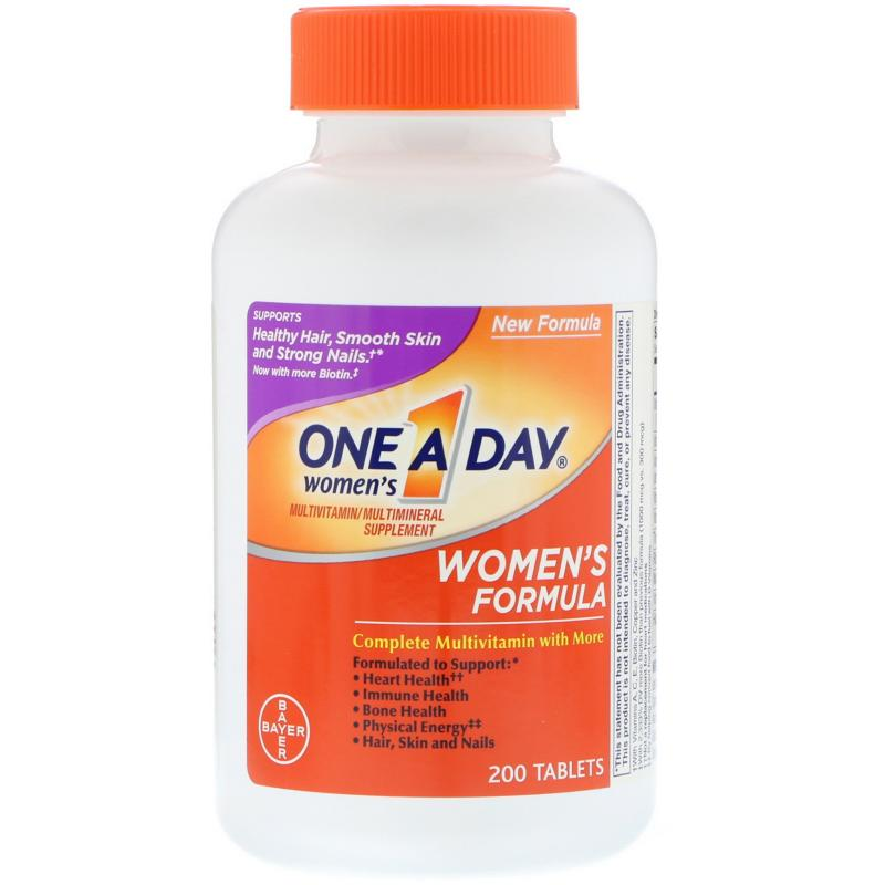 One A Day Women's Formula multivitamin 200 tablets - фото 1