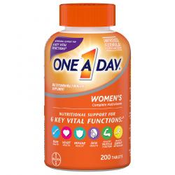 One A Day Women's Formula multivitamin 200 tablets