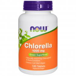 Now Foods Chlorella 1000 mg 120 tablets