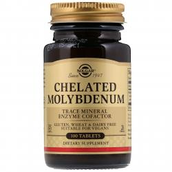 Solgar Chelated Molybdenum 100 tablets