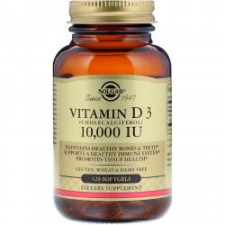 Solgar Vitamin D 3 10,000 IU 120 Softgels