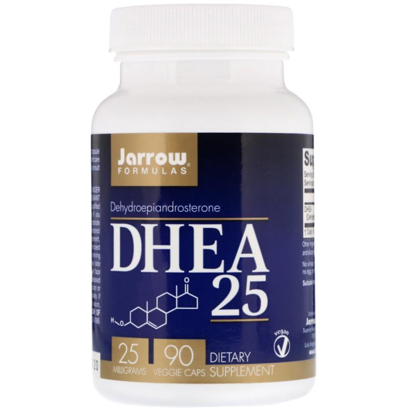 Jarrow Formulas Dhea 25 mg 90 caps - фото 1