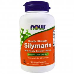 Now Foods Silymarine Doble Strenght 300 mg 100 vcaps