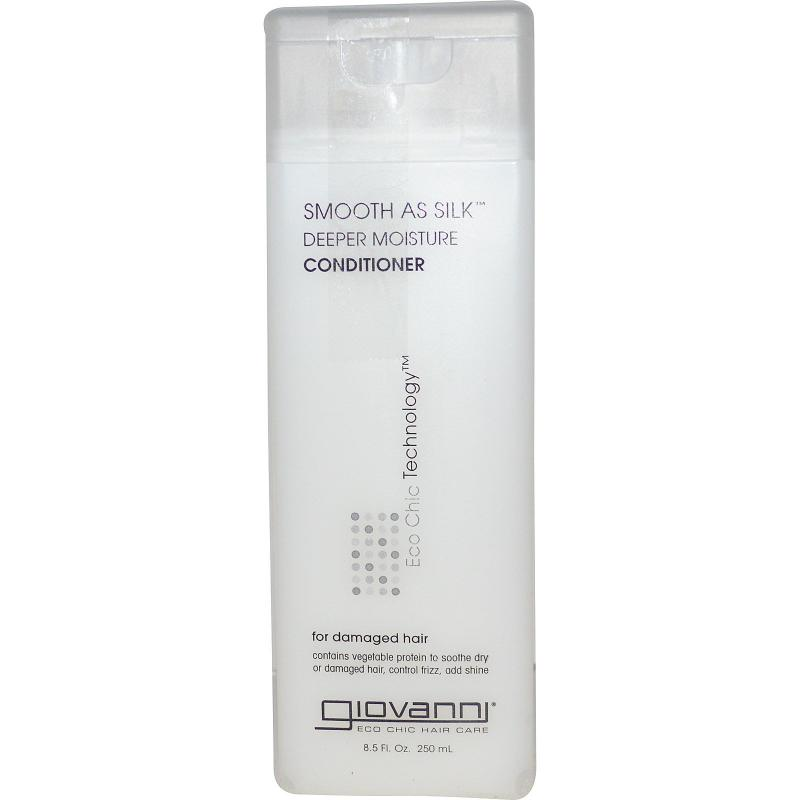 Кондиционер Giovanni Conditioner Smooth As Silk Deeper Moisture 250 ml - фото 1