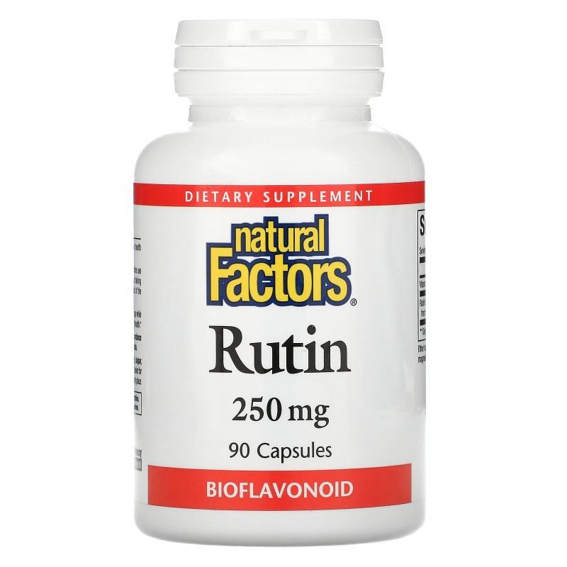 Natural Factors Rutin 250 mg 90 capsules - фото 1