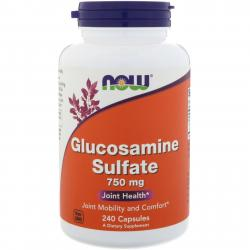 Now Foods Glucosamine Sulfate 750 mg 240 caps