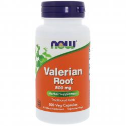 Now Foods Valerian Root 500 mg 100 vcaps